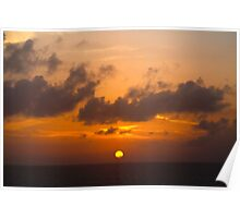 Central Sunset Poster