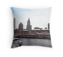 Waterplace Park - Providence, RI Throw Pillow