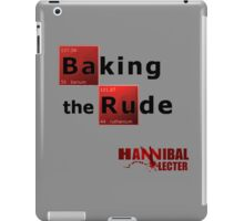 Baking the Rude - Hannibal Lecter iPad Case/Skin