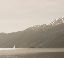 Sailing boat by Mats Silvan