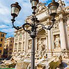 Trevi Fountain by Mats Silvan