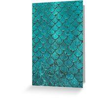 Mermaid Scales Greeting Card