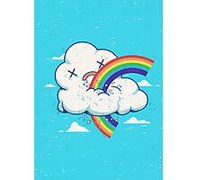 Cloud Hates Rainbow Photographic Print