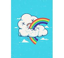 Cloud Hates Rainbow Photographic Print