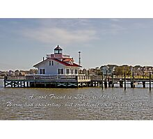 Lighthouse Friendship Photographic Print