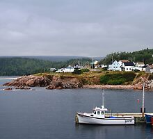 Harbour off the Cabot Trail by DANIKAHANTAYA