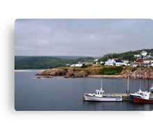 Harbour off the Cabot Trail Canvas Print