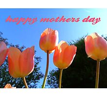 mothers day Photographic Print