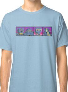 Mutant Gangland Robot Bosses Classic T-Shirt