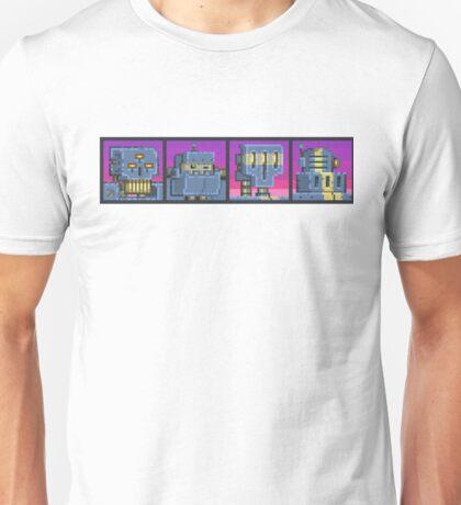 Mutant Gangland Robot Bosses Unisex T-Shirt