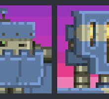 Mutant Gangland Robot Bosses by Grundysoft