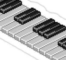 8-Bit Piano Key Sticker