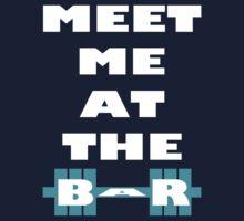 Meet Me At The Bar - Workout Inspiration Kids Tee