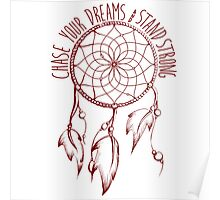 Stand Strong Attire Dreamcatcher Prints & Posters Poster