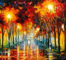 APPROACHING by Leonid  Afremov