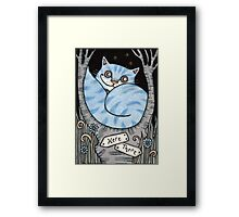 Which Way?¿ Framed Print
