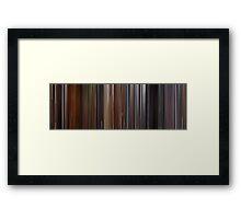 Moviebarcode: Time Bandits (1981) Framed Print