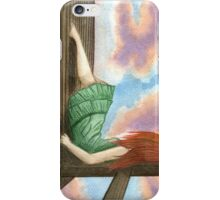 Sitting alone iPhone Case/Skin