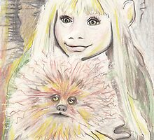 Kira and Fizzgig - The Dark Crystal by Troglodyte