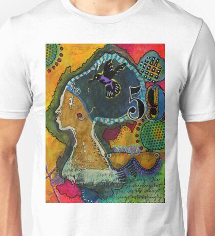 Woman at 59 Unisex T-Shirt