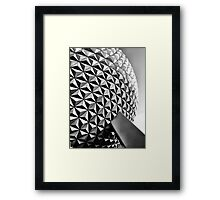 Epic Earth Ship Has Descended! Framed Print
