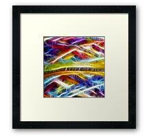 Abstract Fractal  Framed Print