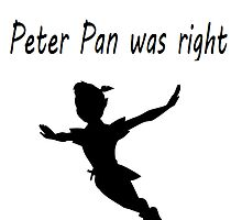 Peter Pan was right by GiraffesAreCool