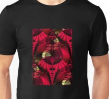 The Fantastical Fractal Fan Dance Unisex T-Shirt