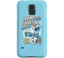Olaf's Hot Oatmeal Flakes Samsung Galaxy Case/Skin