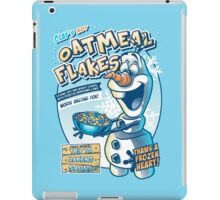 Olaf's Hot Oatmeal Flakes iPad Case/Skin