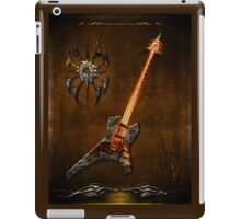 Black Metal Guitar Digital Art iPad Case/Skin