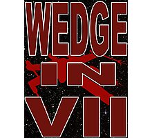 Wedge in VII - 1-2 Photographic Print