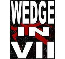 Wedge in VII - 1-5 Photographic Print