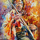 JIMMI HENDRIX by Leonid  Afremov
