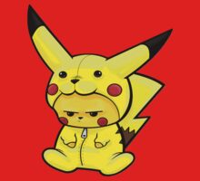 pikachu dress as Pikachu Kids Tee