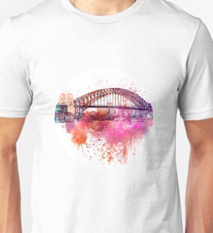 Sydney Harbor Bridge Unisex T-Shirt
