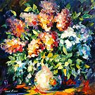 LILACS ON MARCH by Leonid  Afremov