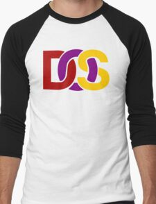 MS-DOS Men's Baseball ¾ T-Shirt