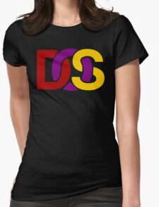 MS-DOS Womens Fitted T-Shirt