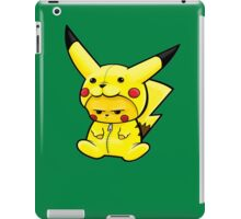 pikachu dress as Pikachu iPad Case/Skin