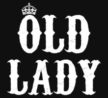 old lady by queensnake