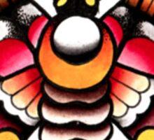 Flower Moth Tee Sticker