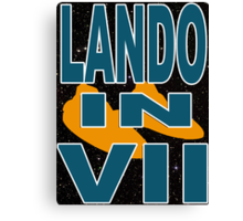 Lando in VII - 1-3 Canvas Print