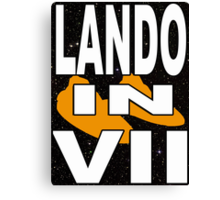 Lando in VII - 1-5 Canvas Print