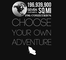 Choose Your Own Adventure Womens Fitted T-Shirt