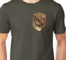 Custom Dredd Badge - Colver Unisex T-Shirt