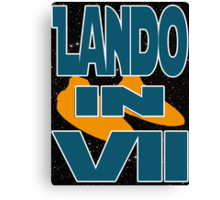 Lando in VII - 2-3 Canvas Print