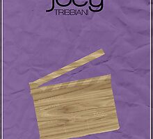 Friends Joey Tribbiani minimalist poster by hannahnicole420