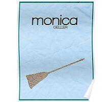 Friends Monica Geller minimalist poster Poster
