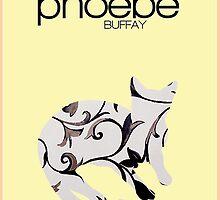 Friends Phoebe Buffay minimalist poster by hannahnicole420